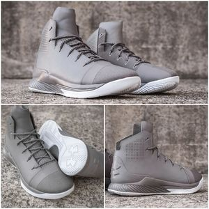 Under Armour Primo Men Mid Basketball Shoes Grey 8